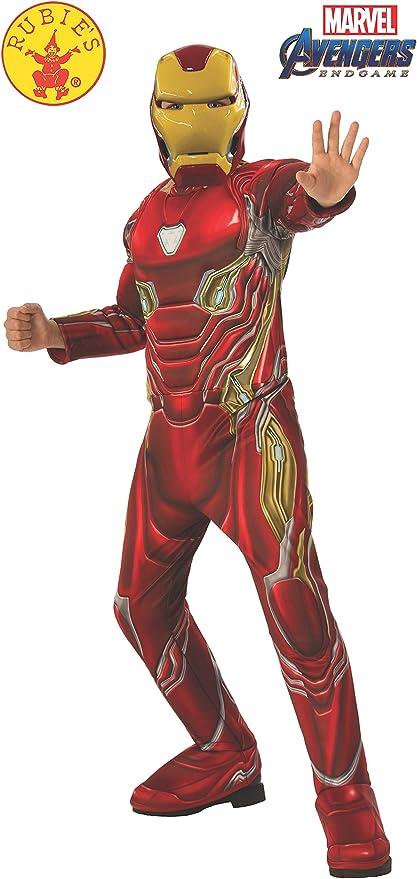 Amazon.com: Vengadores 4 Deluxe Iron Man Mark 50 disfraz y ...