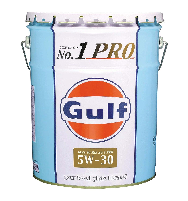 Gulf [ ガルフ ] Gulf No,1PRO [ ガルフNo,1プロ ] 5w30 全合成油 [ 20L ] [HTRC3] B005QUSXJE