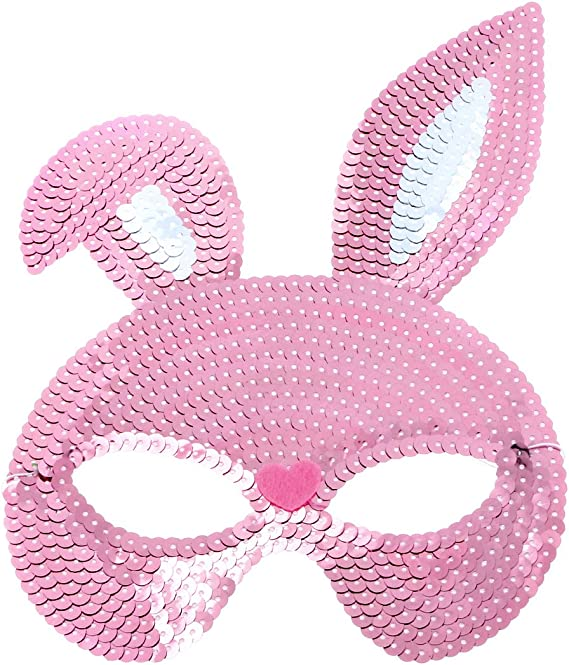 PRETYZOOM 4pcs Half Face Mask Bunny Bunny Lace Eyemask Halloween Costume Party Prom Mask for Cosplay Masquerade Party Accessory Party Supplies