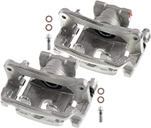 A-Premium Brake Caliper Assembly Compatible with Mitsubishi Galant 2007-2009 Eclipse 2006-2012 3.8L Only Rear Side 2-PC Set