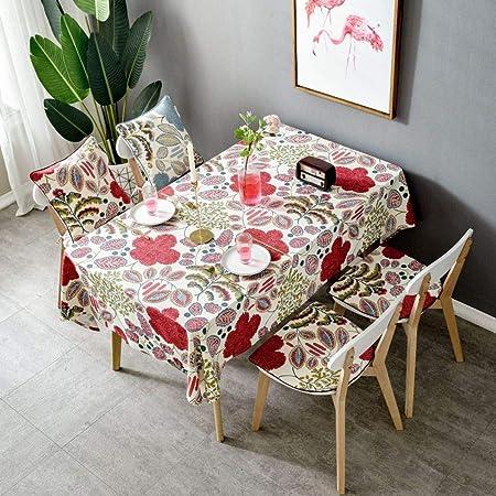 HTUK - Mantel de algodón para decoración del hogar, Mantel de Mesa ...