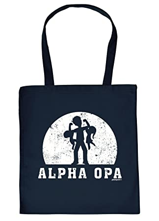 Stoffbeuteltaschesprüche Tasche Thema Familieopa Alpha