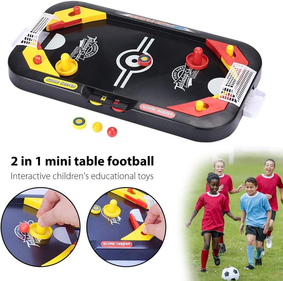 Hockey Table Toys, niños Divertidos Desktop Battle Toy plástico ...