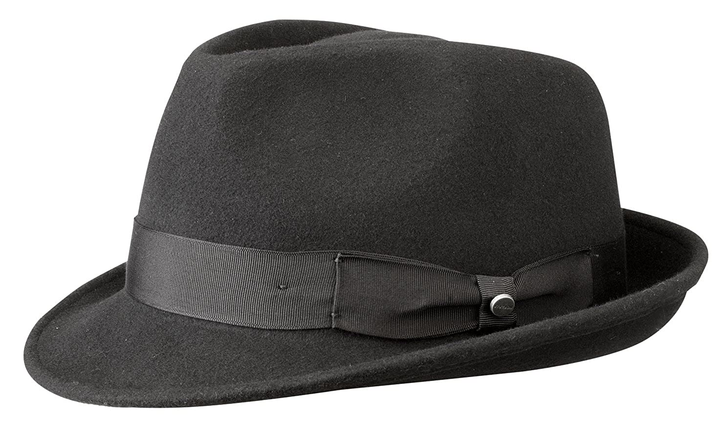 33b50f02 Stetson Hats Elkader Wool Trilby Hat (Large, Brown): Amazon.co.uk: Clothing
