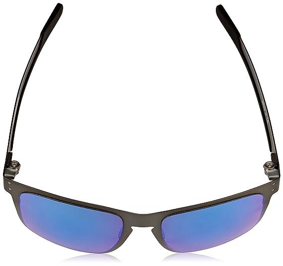9513fb5709 Oakley 0OO4123 Gafas de sol, Matte Gunmetal, 55 para Hombre: Amazon.es:  Ropa y accesorios