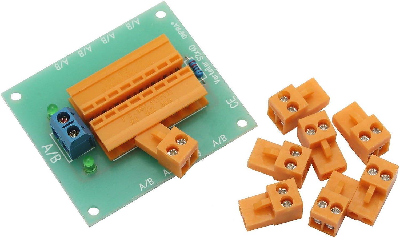 Onpira Stromverteiler Verteiler 5a Belastbar Modellbau Steckerverteiler Spielzeug