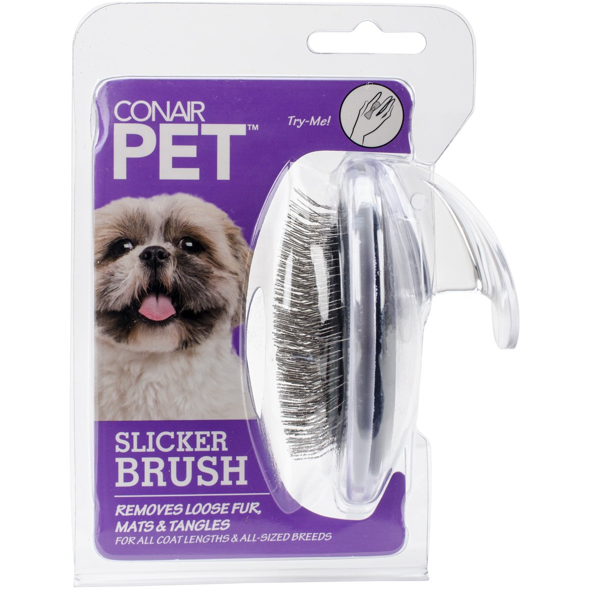 Conair Pet Groom-Me Slicker Brush