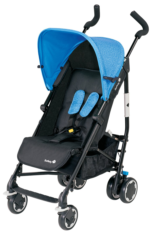 Safety 1st Compa City Buggy (wendig und leicht zusammenfaltbar), hellblau/schwarz Dorel Germany GmbH (VSS) 1260325000