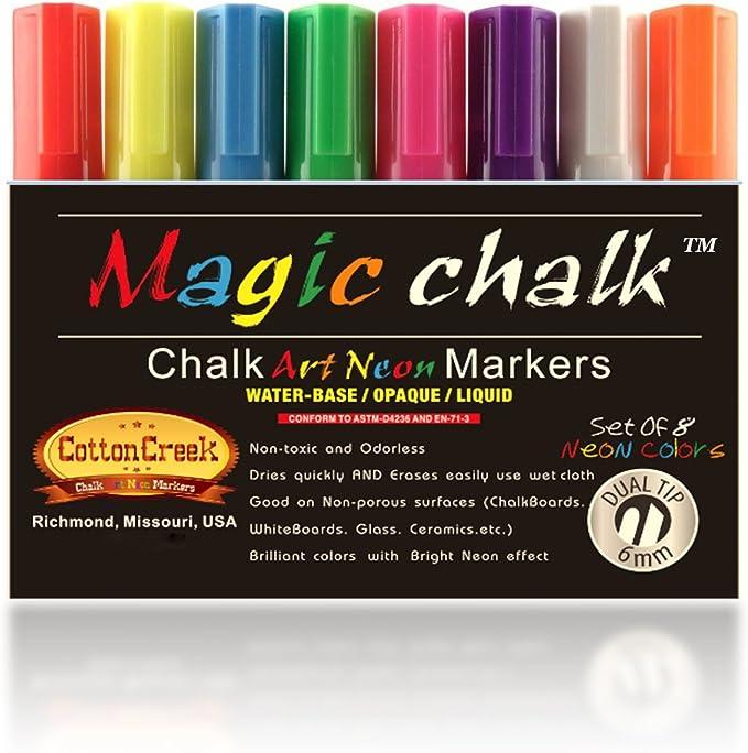 Tizas para tacos de billar marcadores para pelotas de golf By tizas para tacos de billar Magic. Profesional de medición de tensión de tiza líquida marcas en la de tinta para bolígrafo