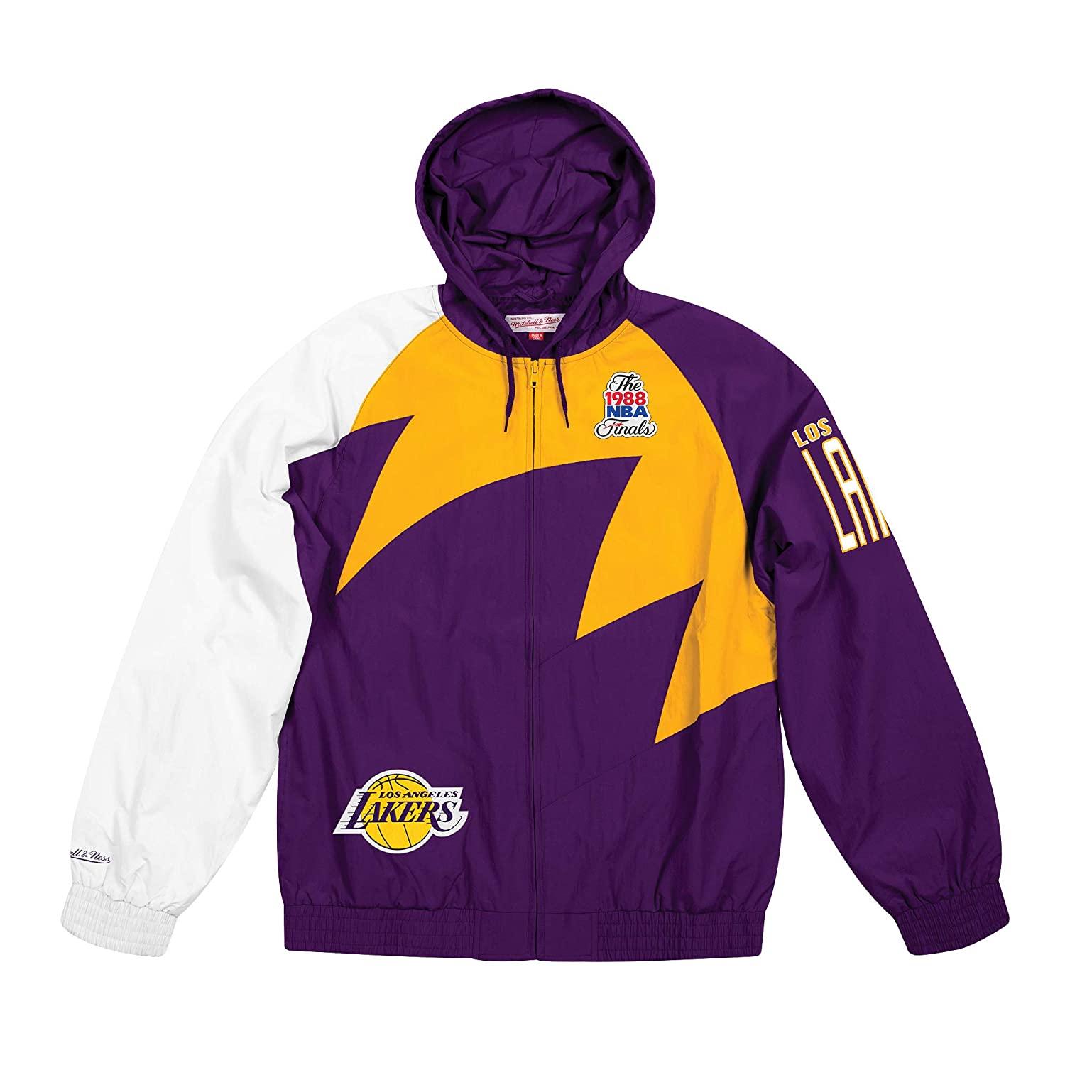 Amazon.com: Mitchell & Ness Los Angeles Lakers Shark Tooth ...