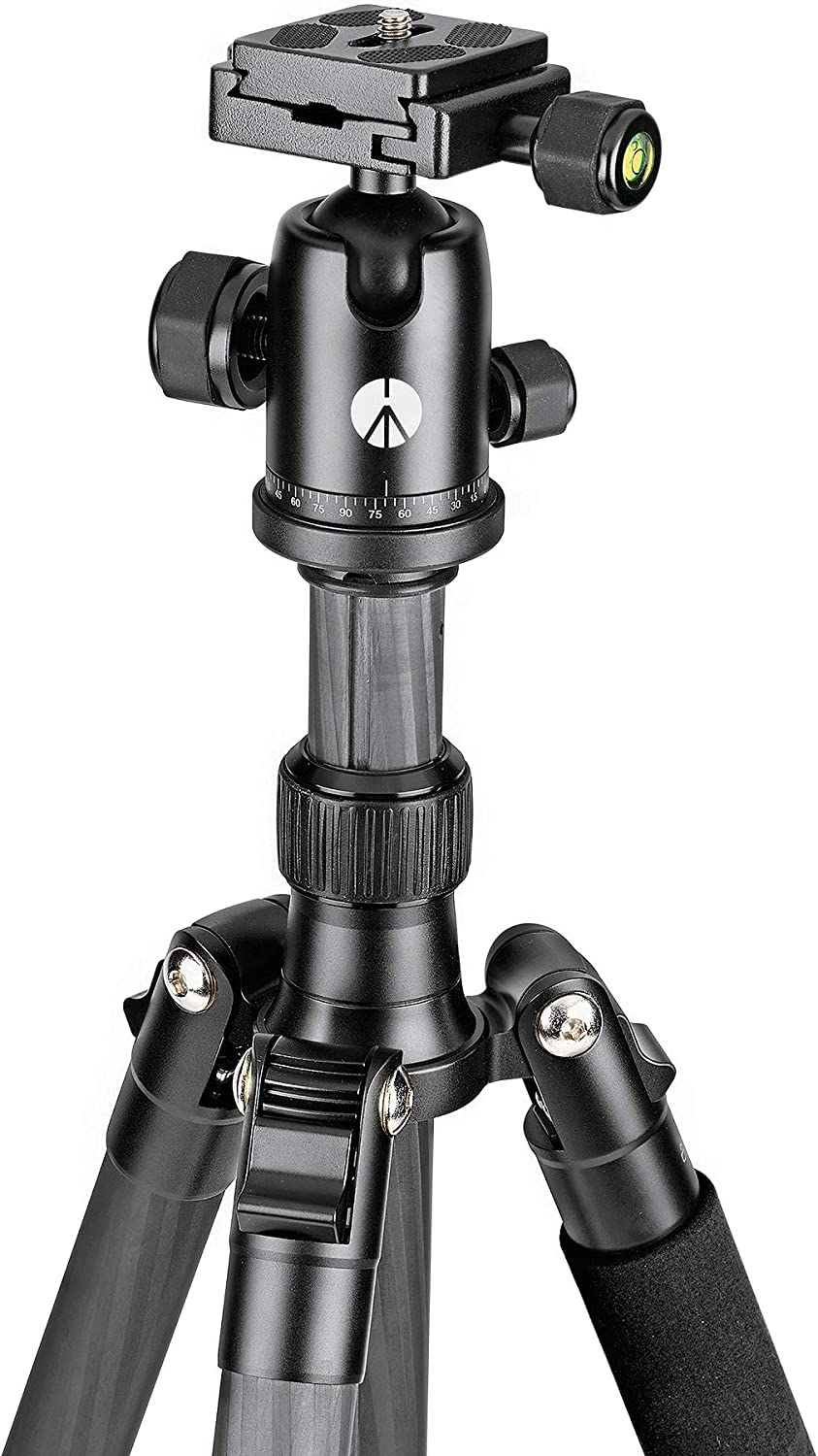 Manfrotto Element Traveller Small Aluminum 5-Section Tripod Kit with Ball Head Element Small 56.3 Carbon Fiber