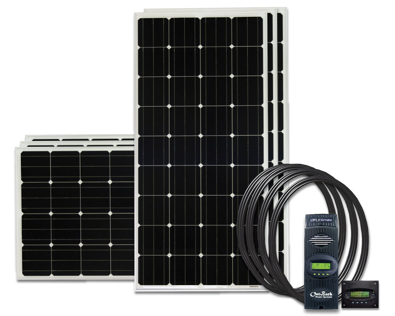Go Power Solar Ae 960 Watts All Electric Charging Off Grid System On An Rv Recreational Vehicle Or Kit Automotive