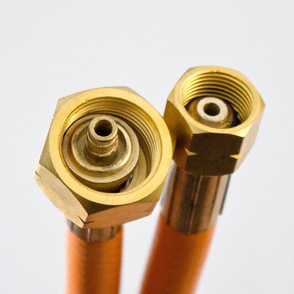 Rexxer 110 kw Doppel Gasbrenner 1850 C° Zubehör Dachbrenner Abflammgerät Unkrautbrenner