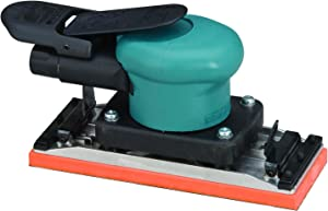 Dynabrade 58507 Dynabug II Orbital Sander, Non-Vacuum with Clips, 2-3/4-Inch 70mm Width by 7-Inch 178mm Length