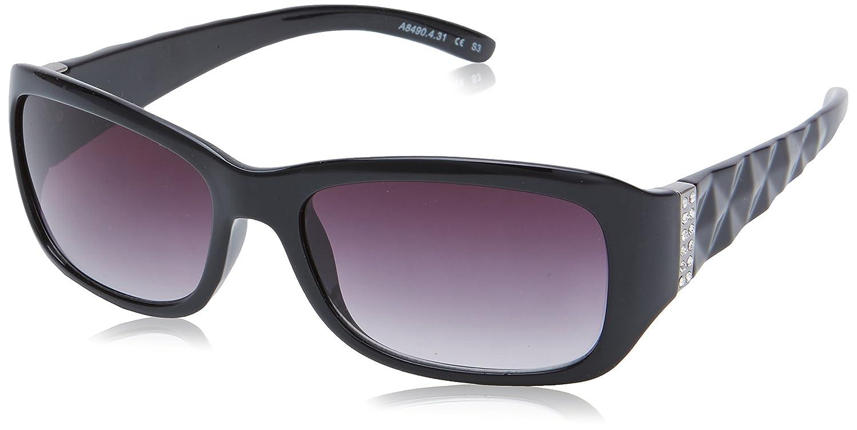 Alpina Men's A50 Keramik, Farbverlauf S3 Ski-Brille, Schwarz
