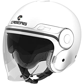 Caberg Uptown Plain Open Face Motorcycle Helmet XL White