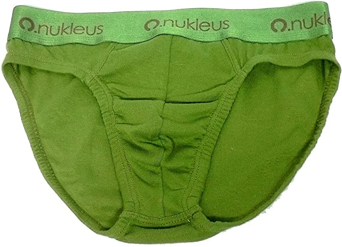 Nukleus 2X Mens Mini Brief Premium 100/% Organic Cotton Extra Comfort Plain