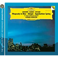 Gershwin: Rhapsody in Blue / Copland: Appalachian Spring / Barber: Adagio for Strings