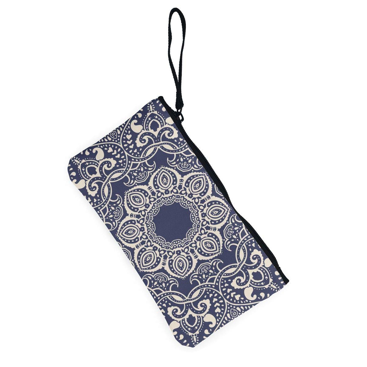 Maple Memories Soccer Portable Canvas Coin Purse Change Purse Pouch Mini Wallet Gifts For Women Girls