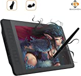 GAOMON PD1560 15.6 Inch IPS HD Screen Drawing Monitor Pen Display with 10 Shortcut Keys and 8192 Levels Wireless Digital Stylus