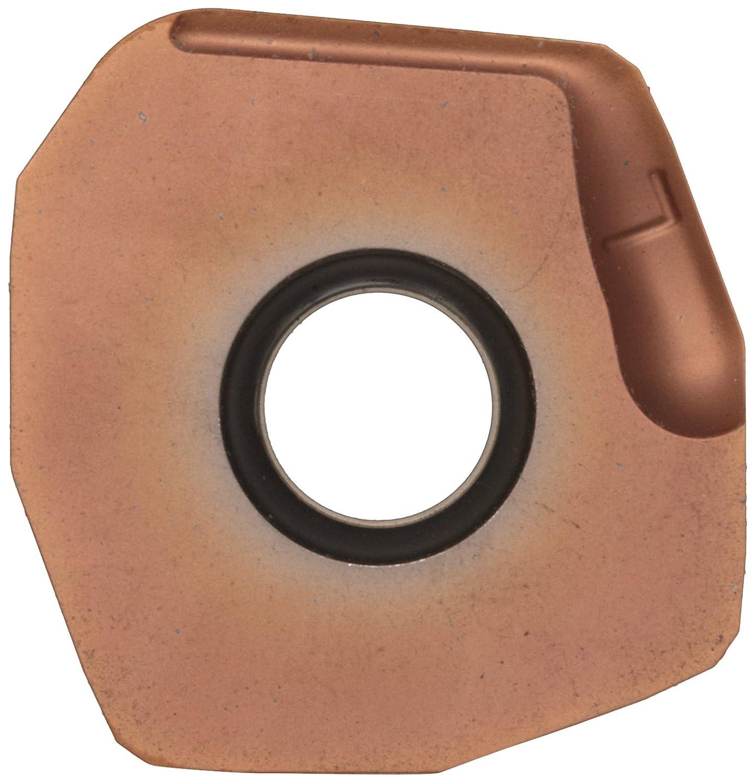 Square Sandvik Coromant COROMILL Carbide Milling Insert 0 Corner Radius N3651505ZNEKW8,0.223 Thick Pack of 10 GC1020 Grade Wiper N365 Style TiAlN Coating