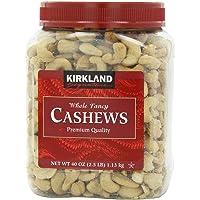Kirkland Signature Cashews, 40 ounce (2 Units) - SET OF 2