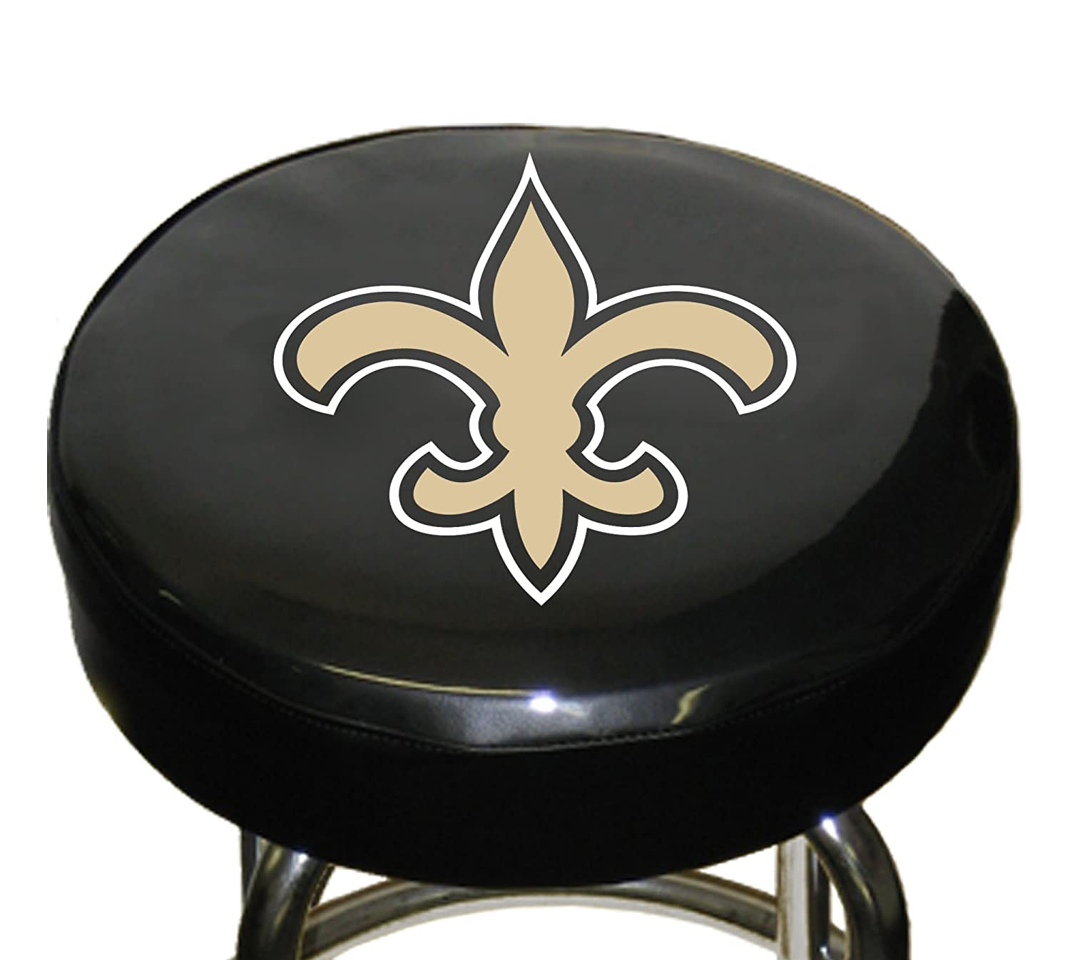 Nfl New Orleans Saints Bar Stool Cover Hardware Shop Stools