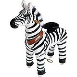 PonyCycle Riding Zebra Med Horse