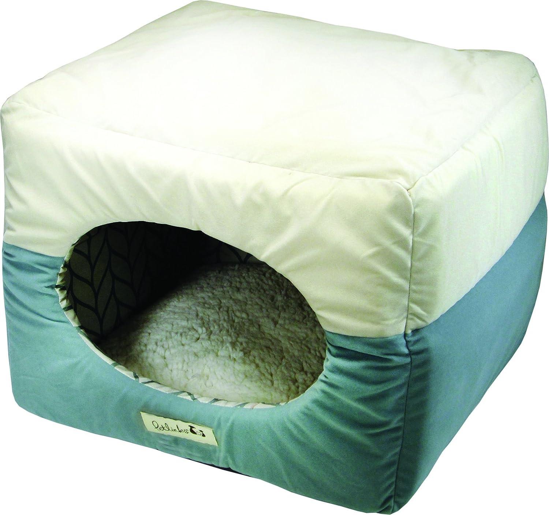 Beige surf Petlinks Double Dreamer 2-in-1 Congreenible Cat Bed, Beige Surf