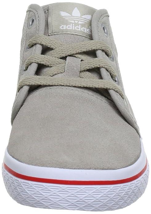 hot sale online 9ea6b acd01 adidas Originals HONEY DESERT W Q23166, Damen Sneaker, Beige (COLLEGIATE  SILVER  COLLEGIATE SILVER  VIVID RED S13), EU 41 13 (UK 7.5) (US 9)  Amazon.de ...