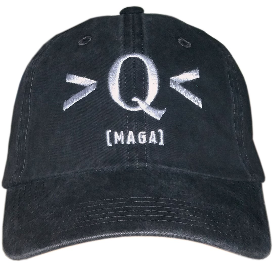 Treefrogg Apparel Q MAGA Distressed Hat New Era Structured Cap - QAnon Q  Anonymous - Black - Adjustable  Amazon.co.uk  Clothing 5964d4b6e1d