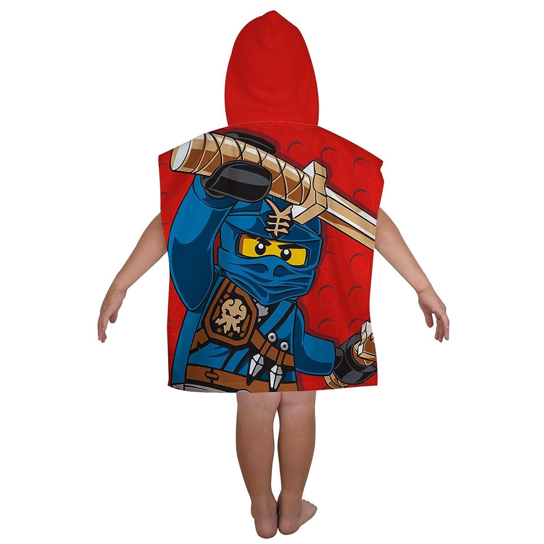 Lego Ninjago Guerrier Poncho /à Capuche Serviette