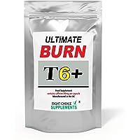 Ultimate Burn T6+ Capsules | Food Supplement | Made in The U.K (60)