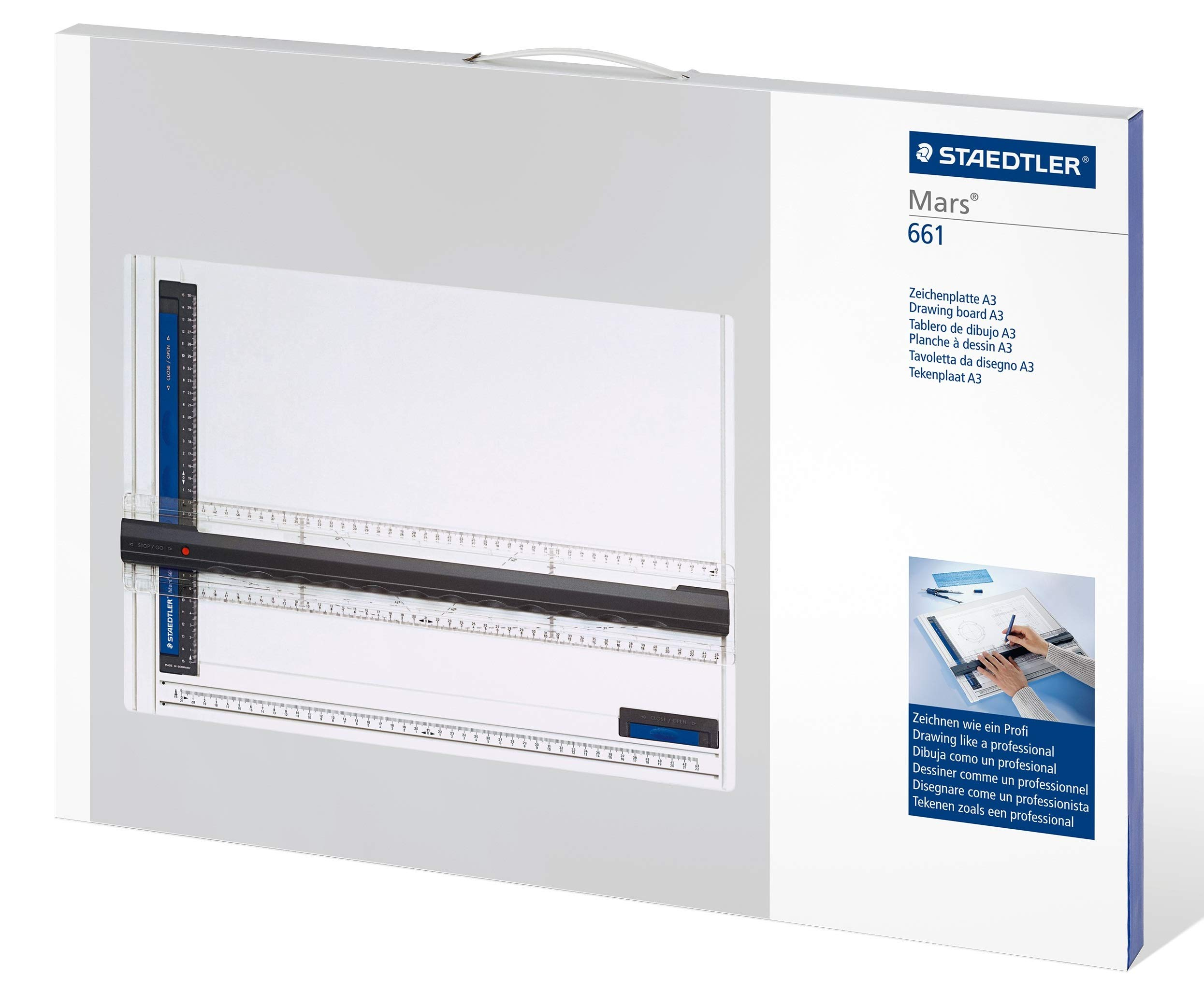 Staedtler drafting machine drawing board Mars Tecnico A3 size ST661-A3 by Staedtler