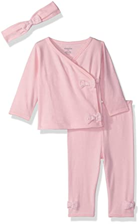 af61916d5ac4 Amazon.com  absorba Baby Girls 2 Pieces Pants Set-Headband  Clothing
