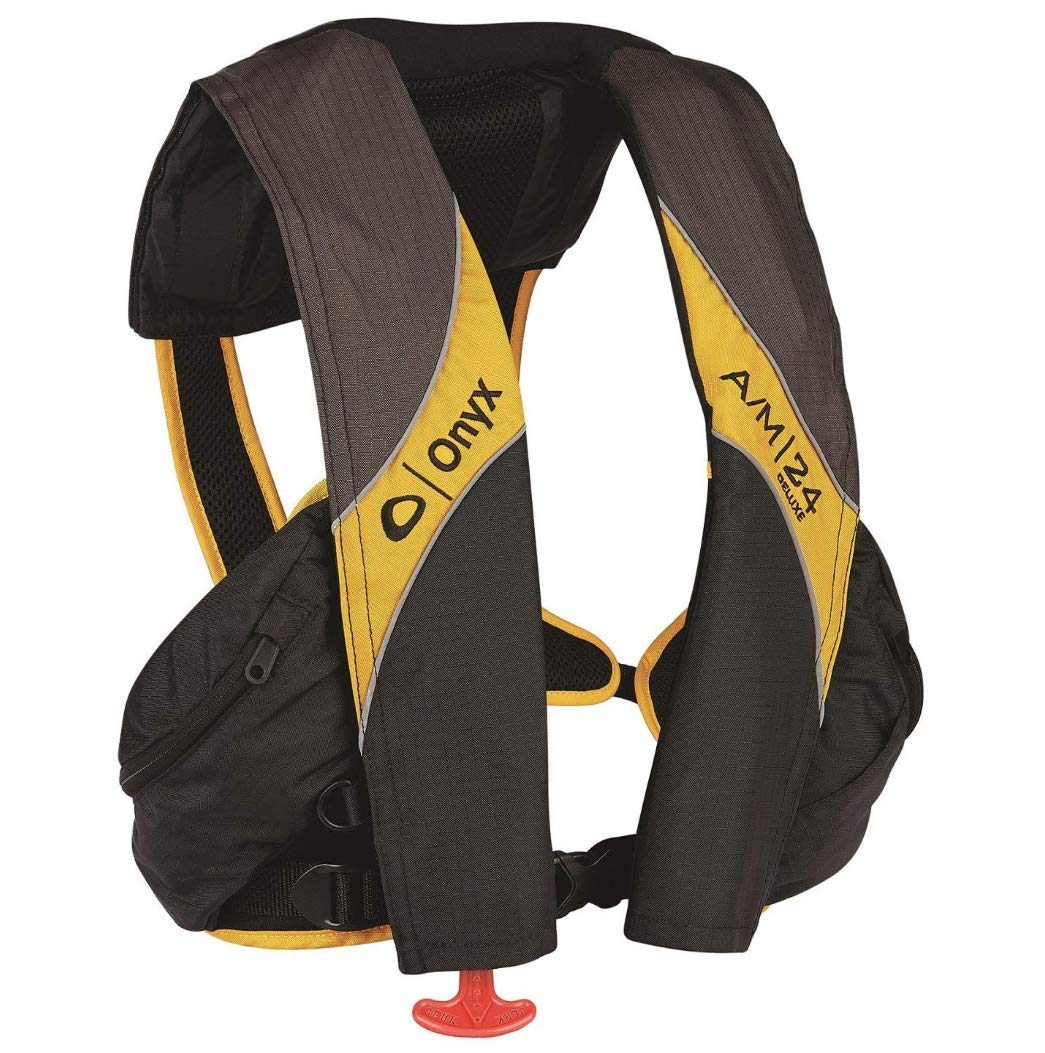Onyx A/M-24 Deluxe Automatic Manual Inflatable Life Jacket by Onyx
