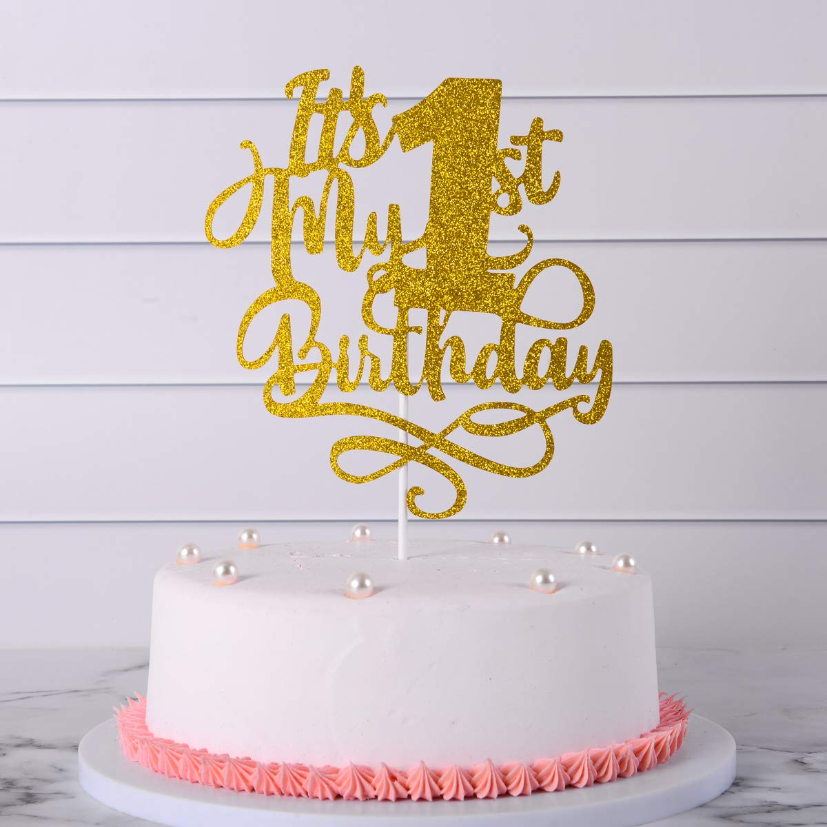 one birthday cake topper. One Cake Topper,First Birthday Topper