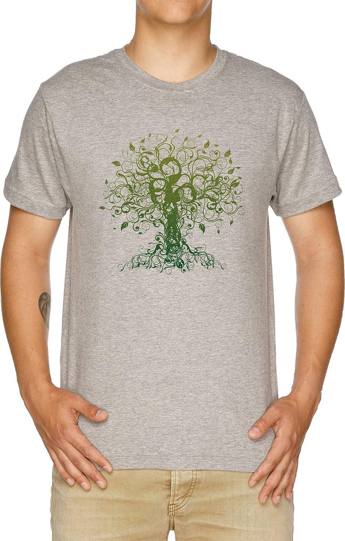 Vendax Meditar, Meditación, Espiritual Árbol Yoga Camiseta ...