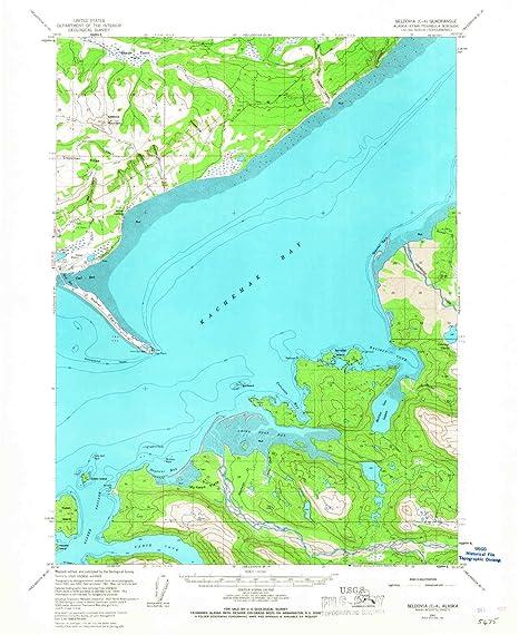 Amazon Com Seldovia C 4 Ak Topo Map 1 63360 Scale 15 X 15 Minute