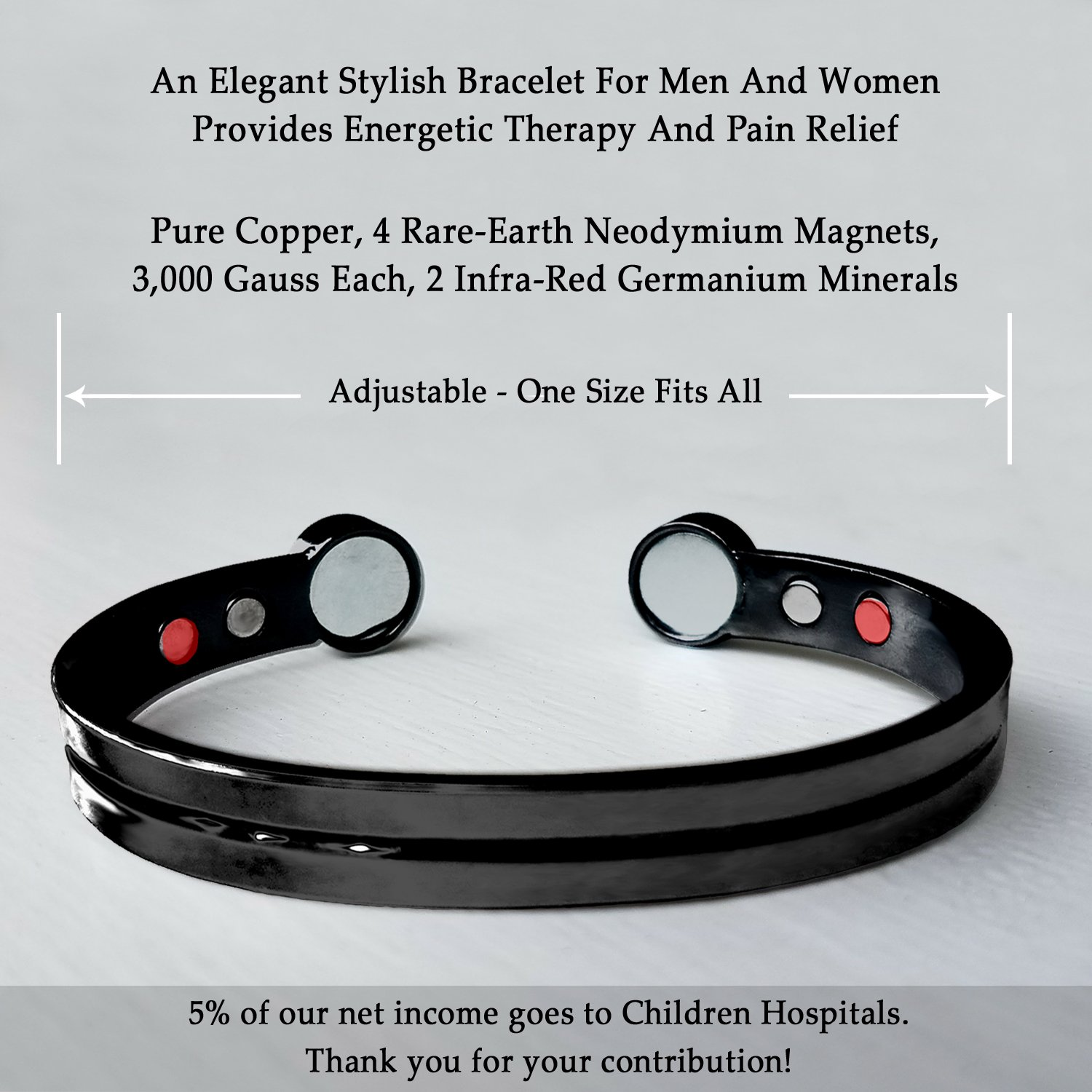 Sufferers wear copper jewelry in the hopes of easing symptoms - Amazon Com Rheumatoid Arthritis Symptoms Pain Relief Fashion Jewelry Bracelets Neodymium Magnetic Infrared Therapy Jewelry