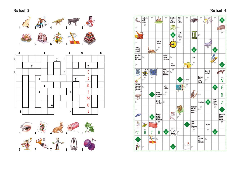Kreuzworträtsel für Kinder ab 10