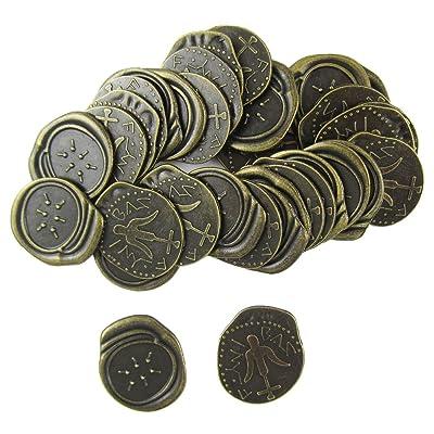 200pcs of Ancient Widow's Mite Coin,widows Mites Coins Roman Reproduction Antique Bronze Coins: Beauty