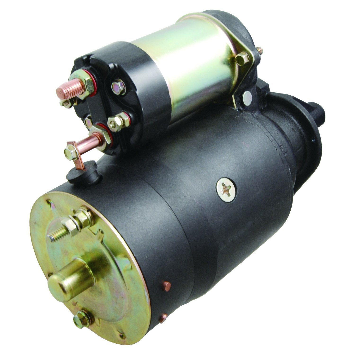New Gm High Torque 3 Bolt Starter Fits Many 1957 Chevy Motor Applications 12volt With One Threaded Hole 1990 Automotive
