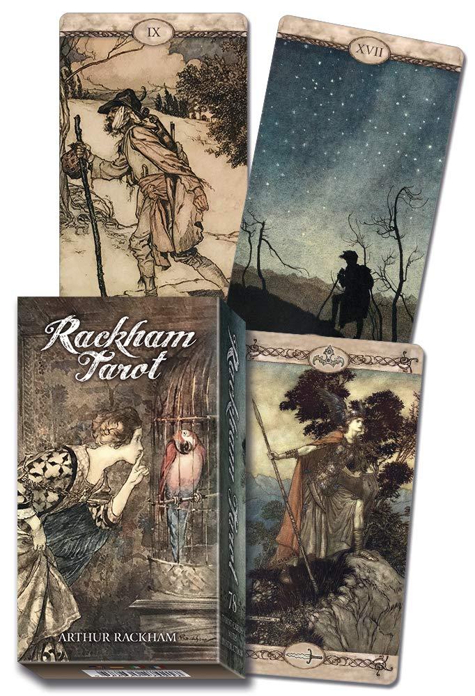 Rackham Tarot: Rackham, Arthur, Lo Scarabeo: 9780738762142: Amazon.com: Books