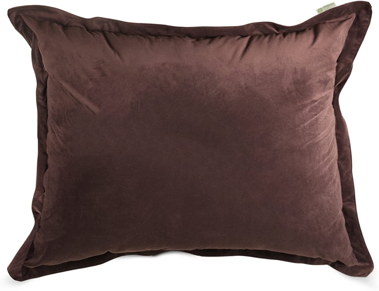 Majestic Home Goods Faux Suede Floor Pillow