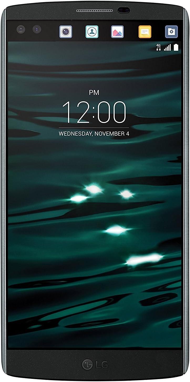 "LG V10 H900 (64GB + 4GB RAM) 5.7"" 4G LTE Unlocked GSM Smartphone (Black)"