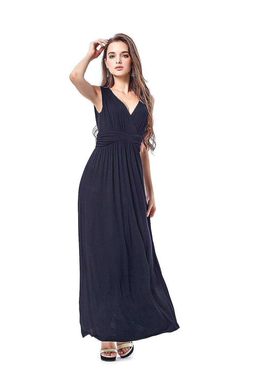 b8c2b0cd7b9 Top1  Charm Your Prince Women s Sleeveless Summer Maxi Sun Dress
