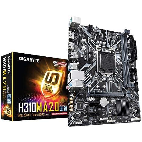 GIGABYTE H310M A 2 0 (LGA1151/ Intel/ H310/ Micro ATX/ DDR4/ HDMI 1 4/ M 2/  Motherboard)