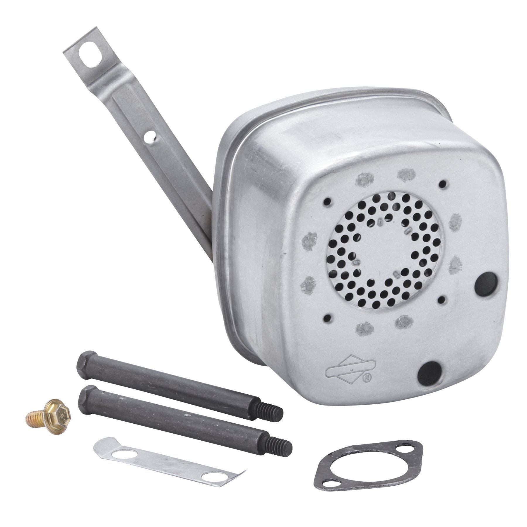 Briggs & Stratton 496022S Lo-Tone Muffler For Selected Model 28 Vertical Engines.