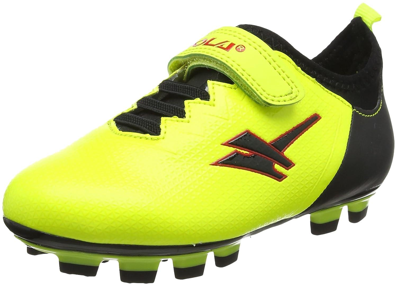 Gola Alpha Blade,Velcro, Chaussures de Football Mixte Enfant AKA885